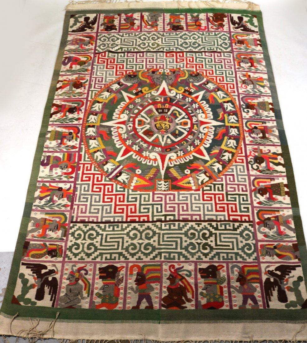 Aztec-Style Carpet