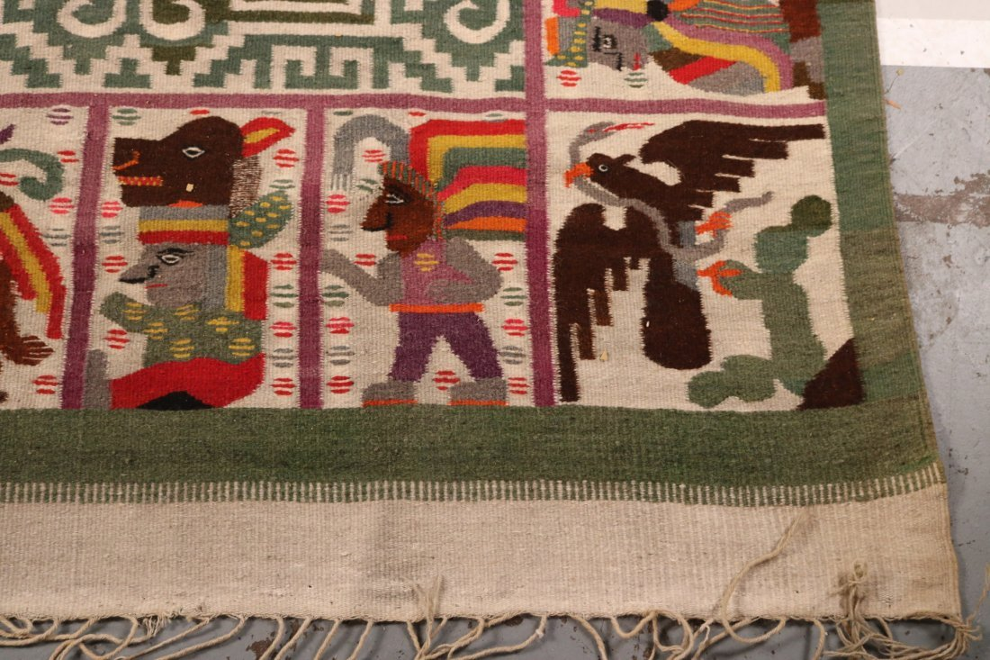 Aztec-Style Carpet - 2