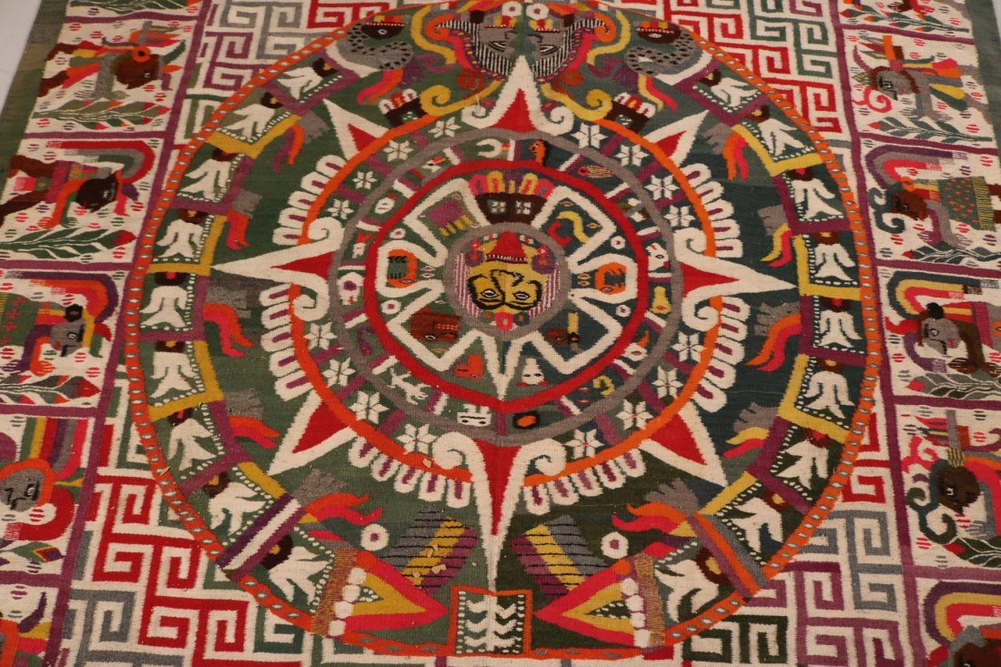 Aztec-Style Carpet - 3