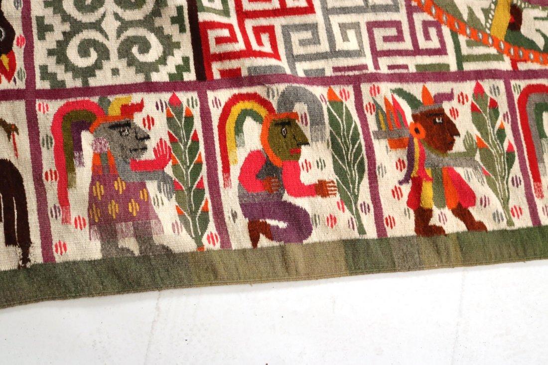 Aztec-Style Carpet - 4