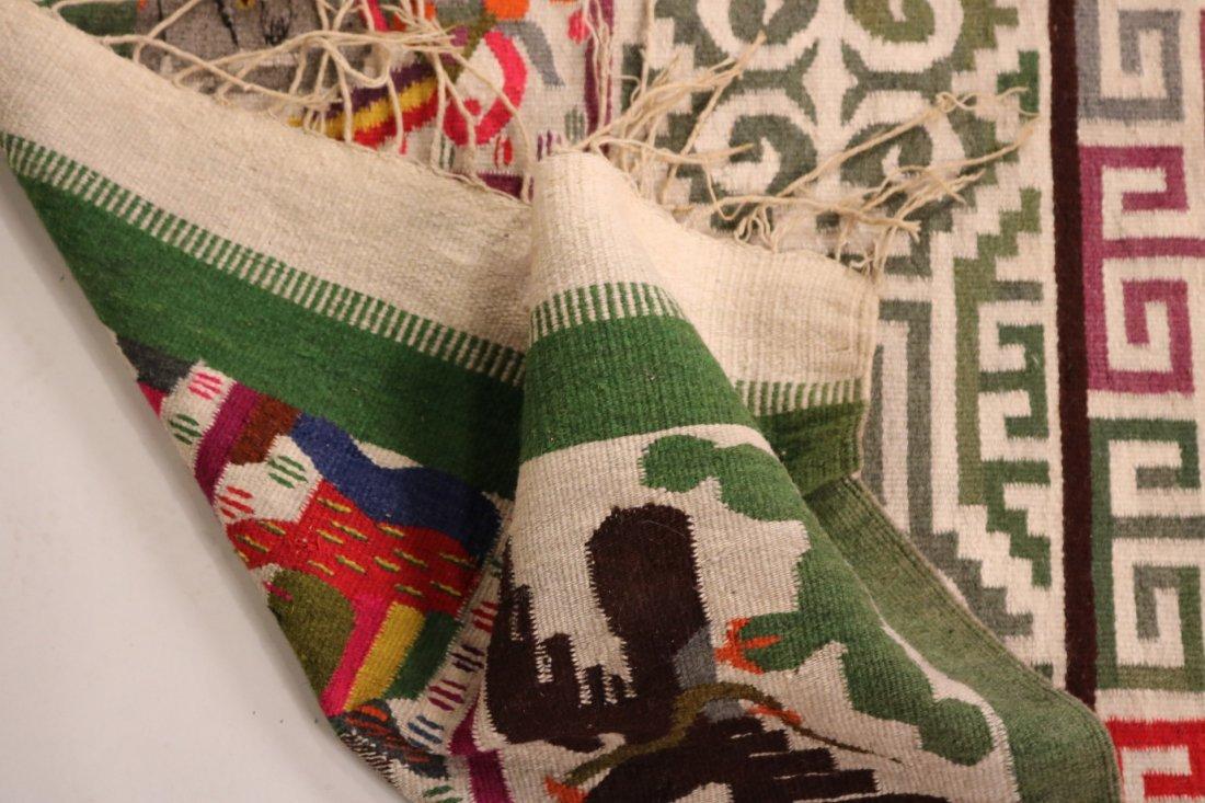 Aztec-Style Carpet - 5