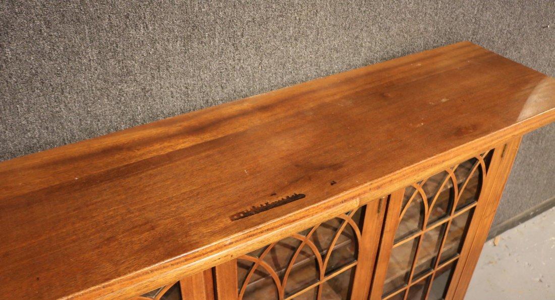 Georgian Style Mahogany Cabinet - 3