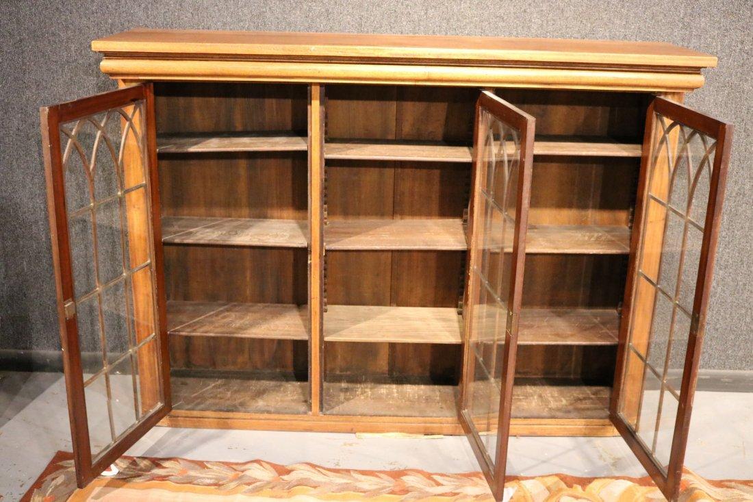 Georgian Style Mahogany Cabinet - 4