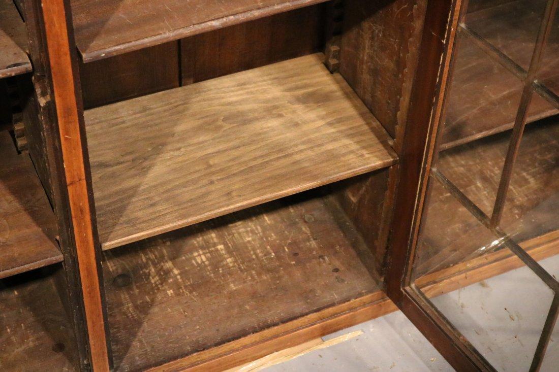 Georgian Style Mahogany Cabinet - 5
