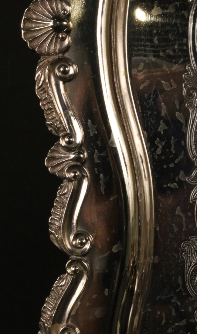 Silver Plated Double Handled Tea Tray - 5