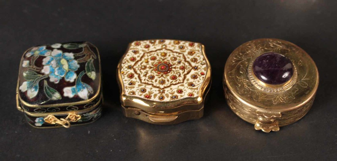 Thirteen Miniature Pill Boxes - 2