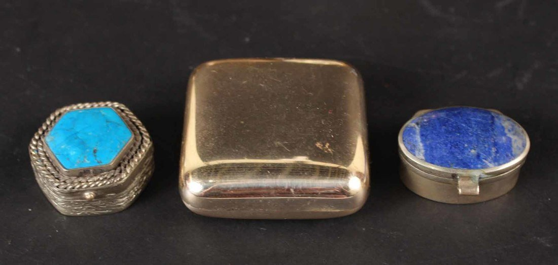 Thirteen Miniature Pill Boxes - 3