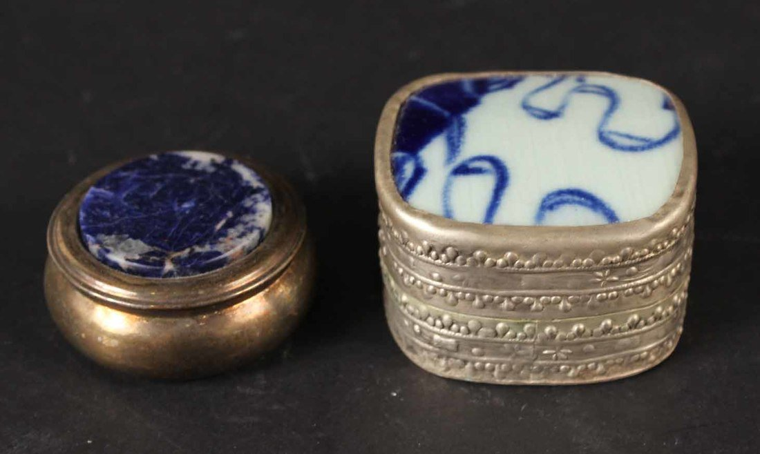 Thirteen Miniature Pill Boxes - 4