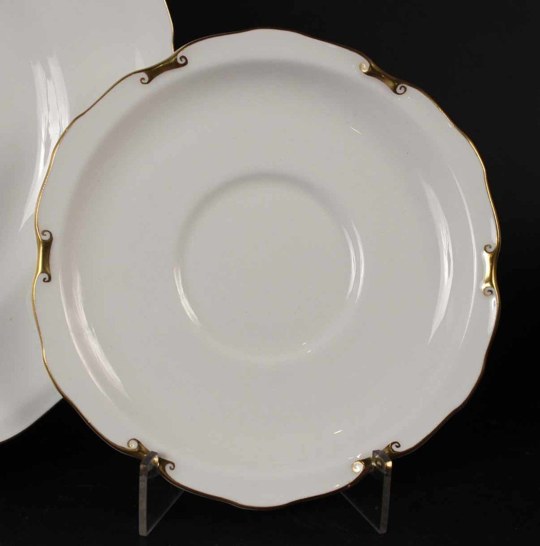 Thirty Ernst Wahliss Octagonal Porcelain Plates - 7