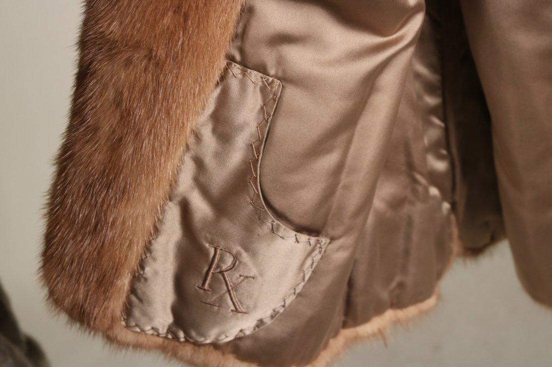 Brown Mink Fur Jacket - 3