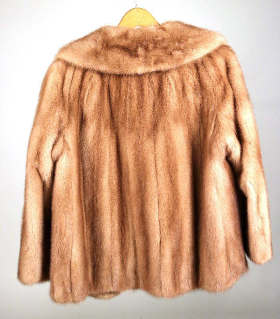 Brown Mink Fur Jacket - 4