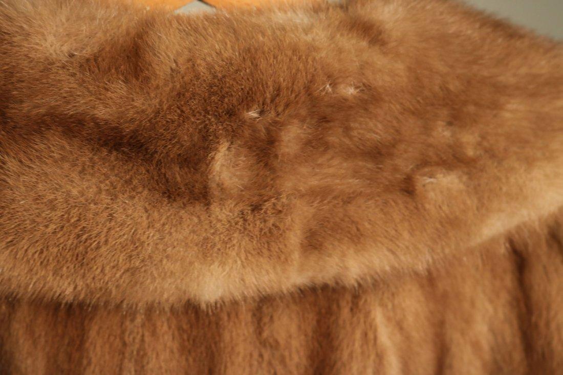 Brown Mink Fur Jacket - 5