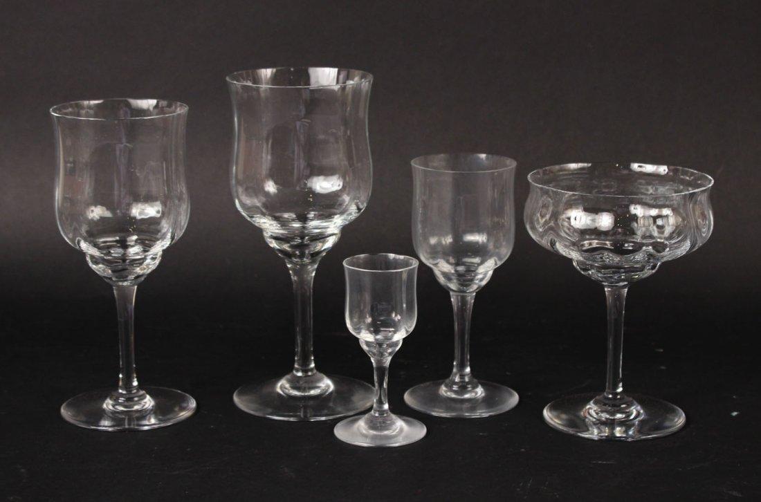 Baccarat Crystal Stemware, Capri Pattern