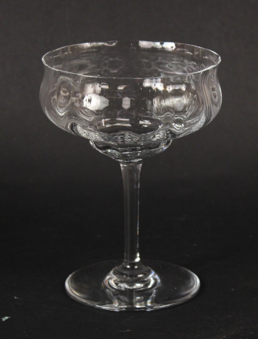 Baccarat Crystal Stemware, Capri Pattern - 2