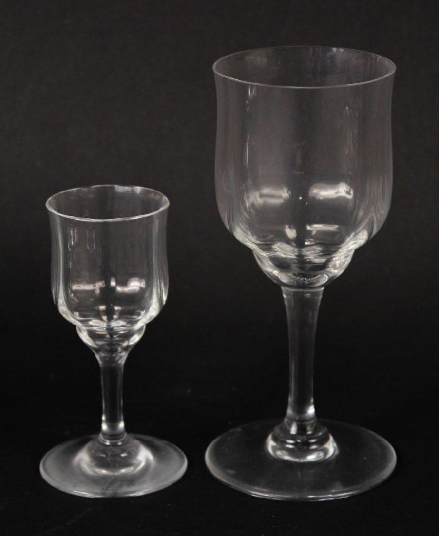 Baccarat Crystal Stemware, Capri Pattern - 3
