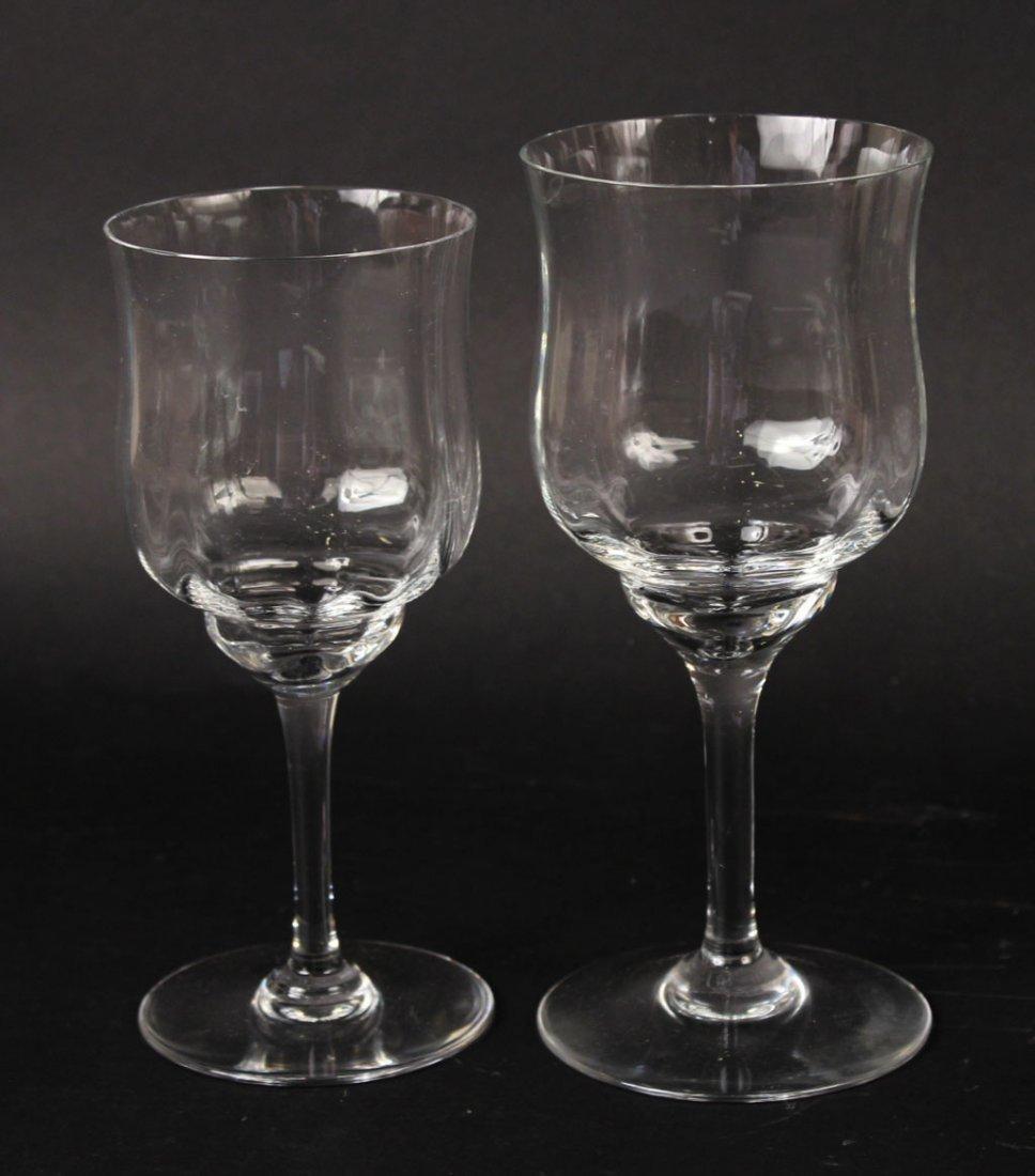 Baccarat Crystal Stemware, Capri Pattern - 4