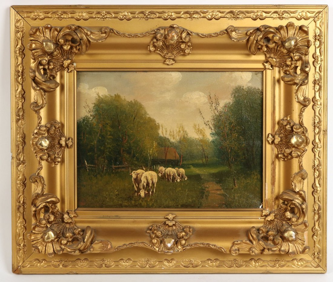 Two Oil on Canvas Landscapes - 7