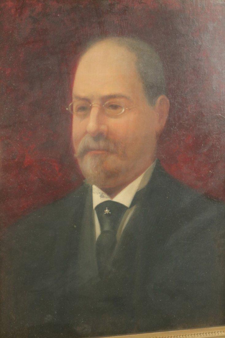 Oil on Board, Portrait of a Gentleman - 2