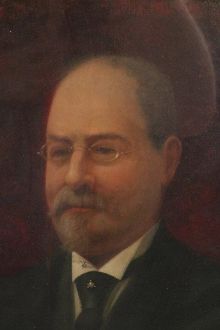 Oil on Board, Portrait of a Gentleman - 3