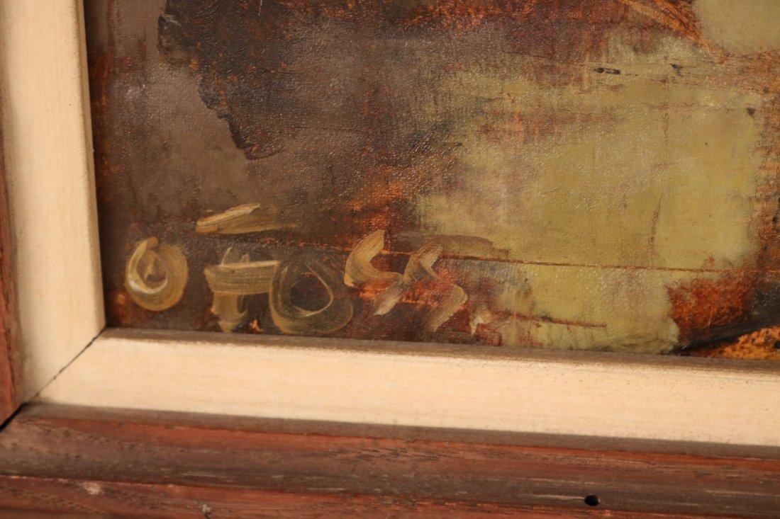 Oil on Canvas, Parisian Street Scene, Oliver Foss - 5