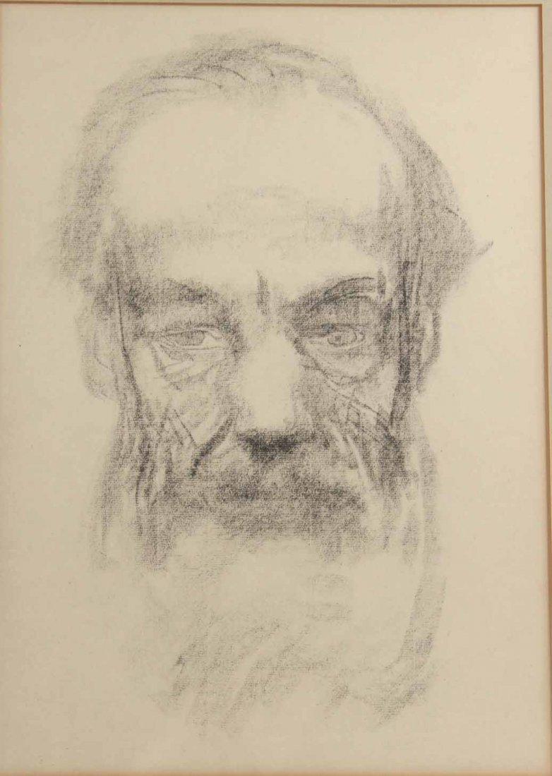 Drawing, Study Man of a Man - 2