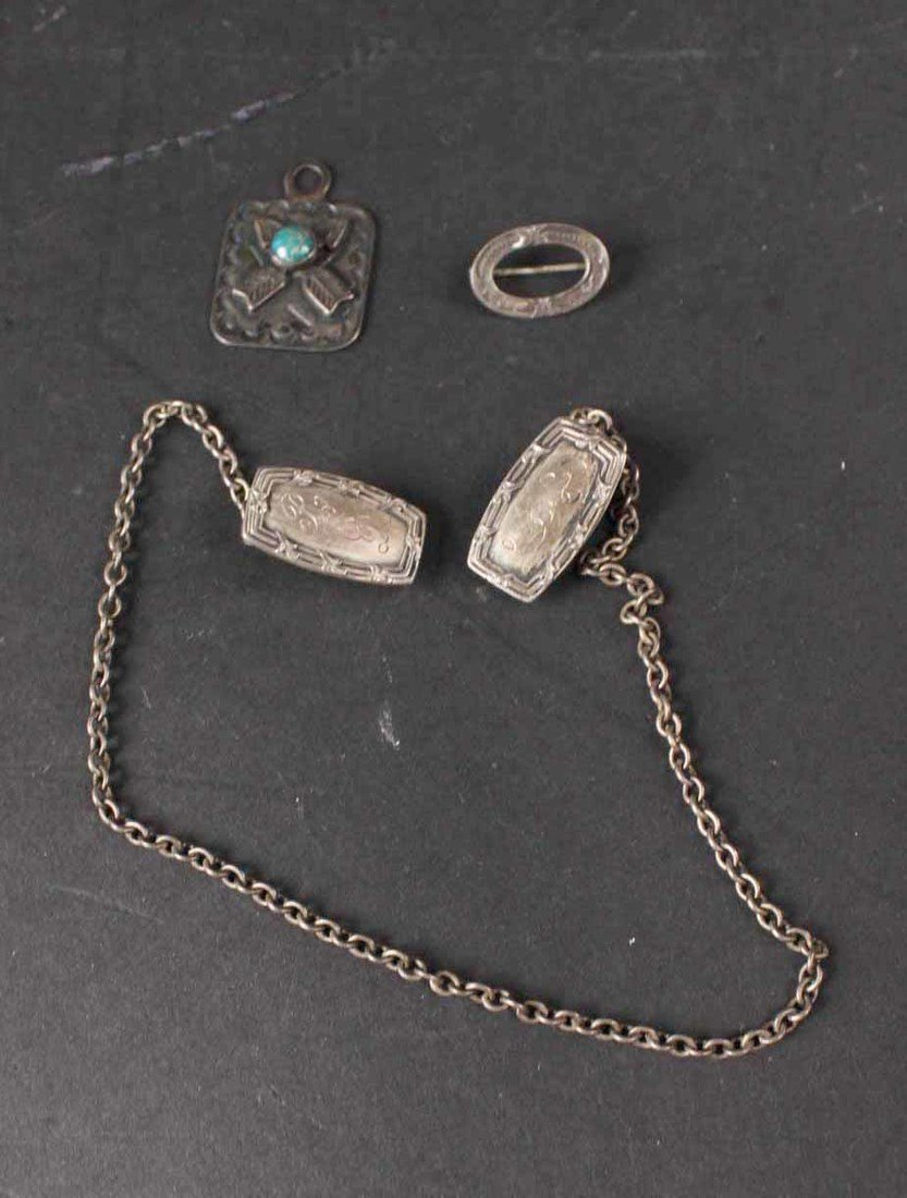 Group of Sterling Silver Items - 2