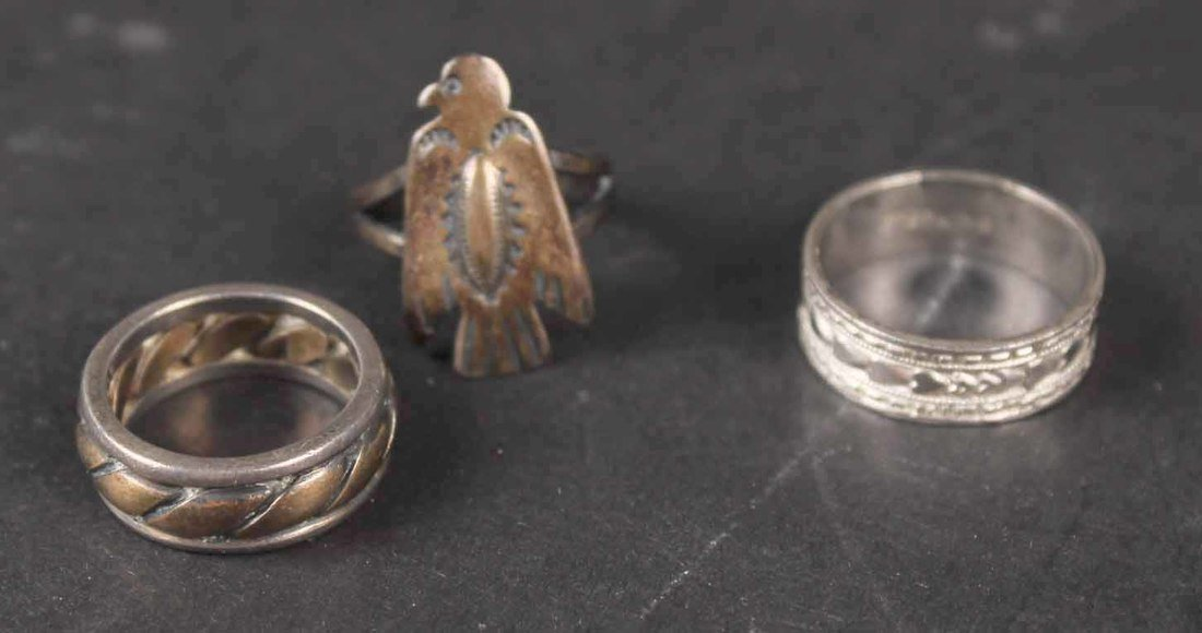 Group of Sterling Silver Items - 3