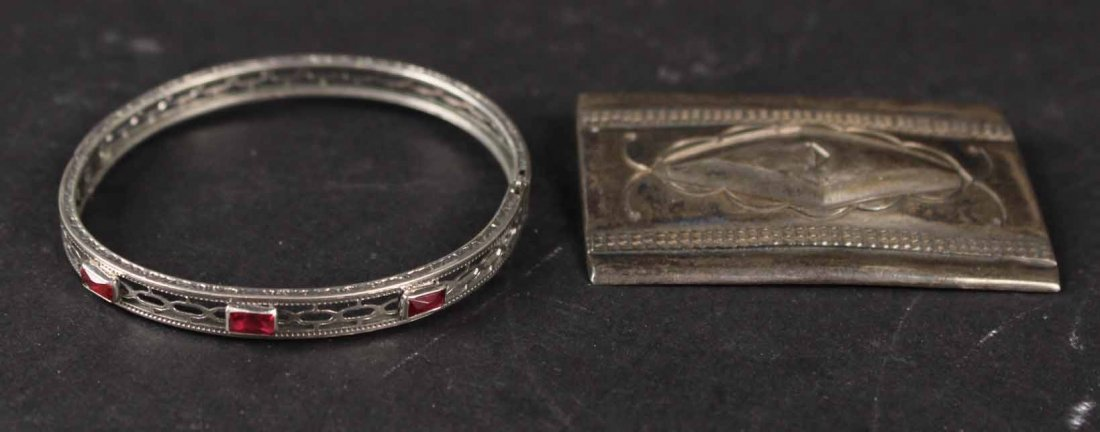 Group of Sterling Silver Items - 5
