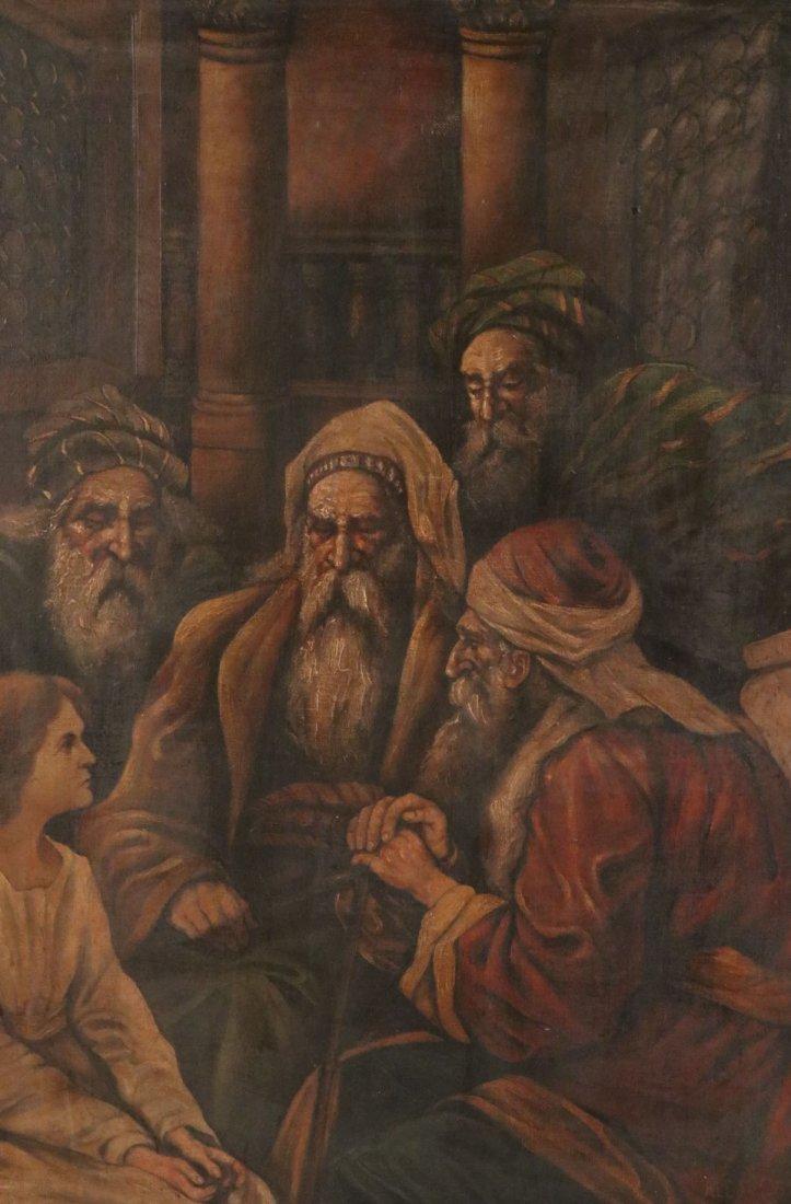 Oil on Canvas, Five Figures, Alexandre Cabanel - 2