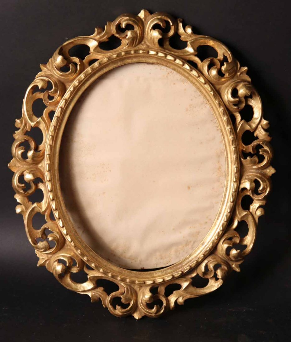 Pair of Neoclassical Style Giltwood Frames - 2
