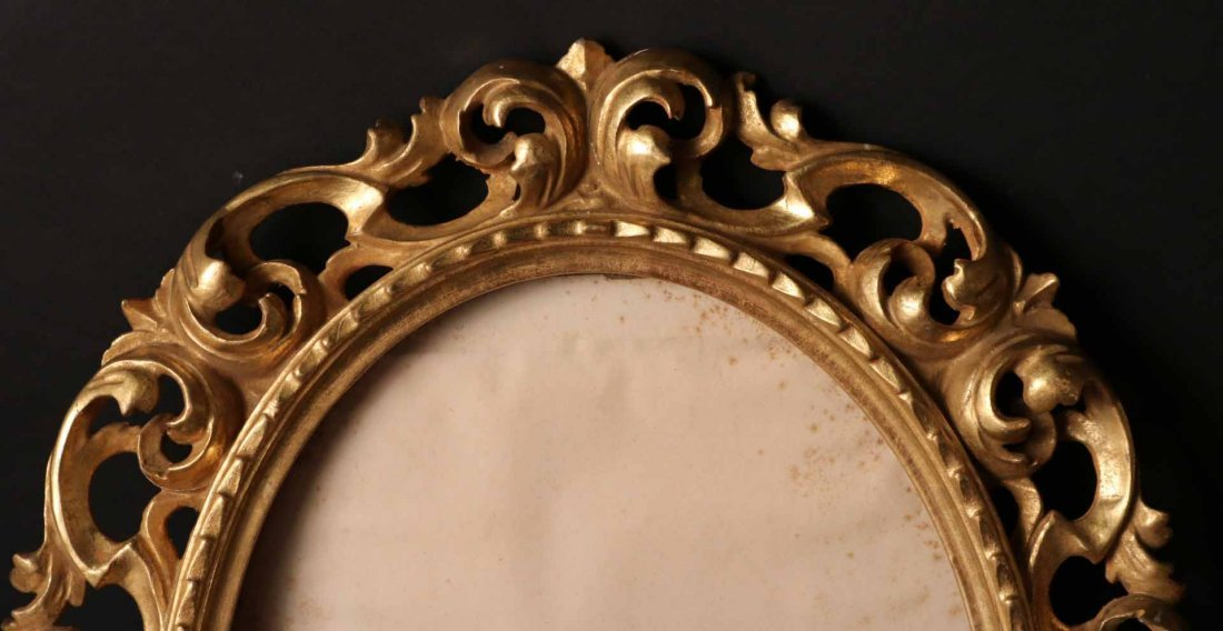 Pair of Neoclassical Style Giltwood Frames - 3