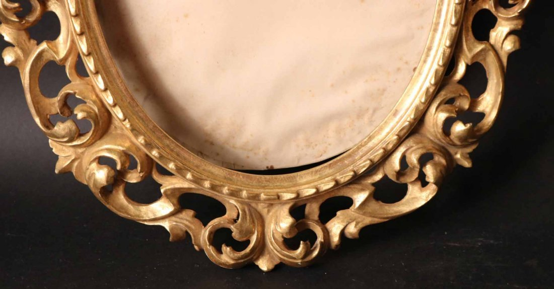 Pair of Neoclassical Style Giltwood Frames - 4