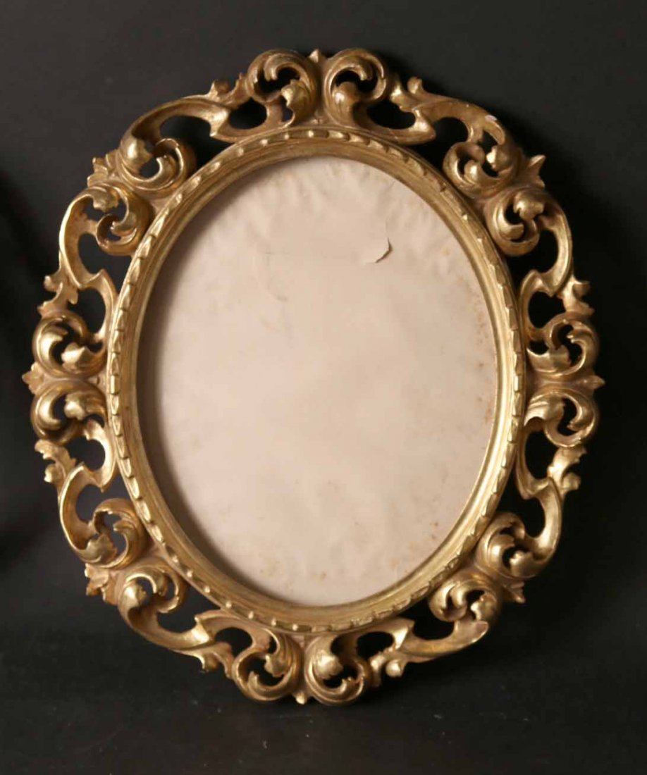 Pair of Neoclassical Style Giltwood Frames - 5