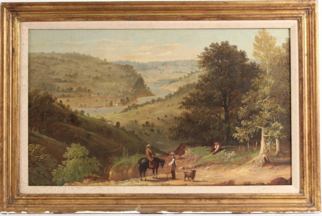 Oil on Canvas, Landscape, Francis Meade