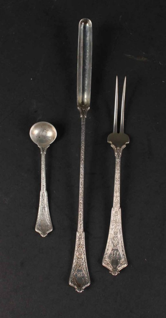 """Tiffany Sterling """"Persian"""" Serving Items - 6"""