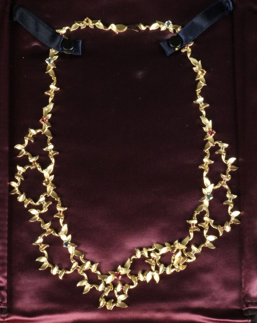 Paul Morelli 18K Yellow Gold&Diamond Bib Necklace