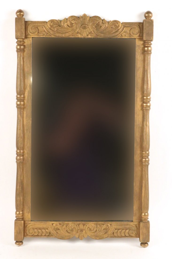 Victorian Carved Giltwood Pier Mirror
