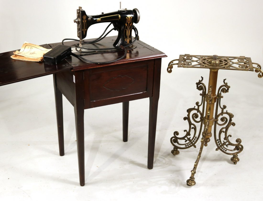 L. Bamberger & Co. Sewing Machine Table