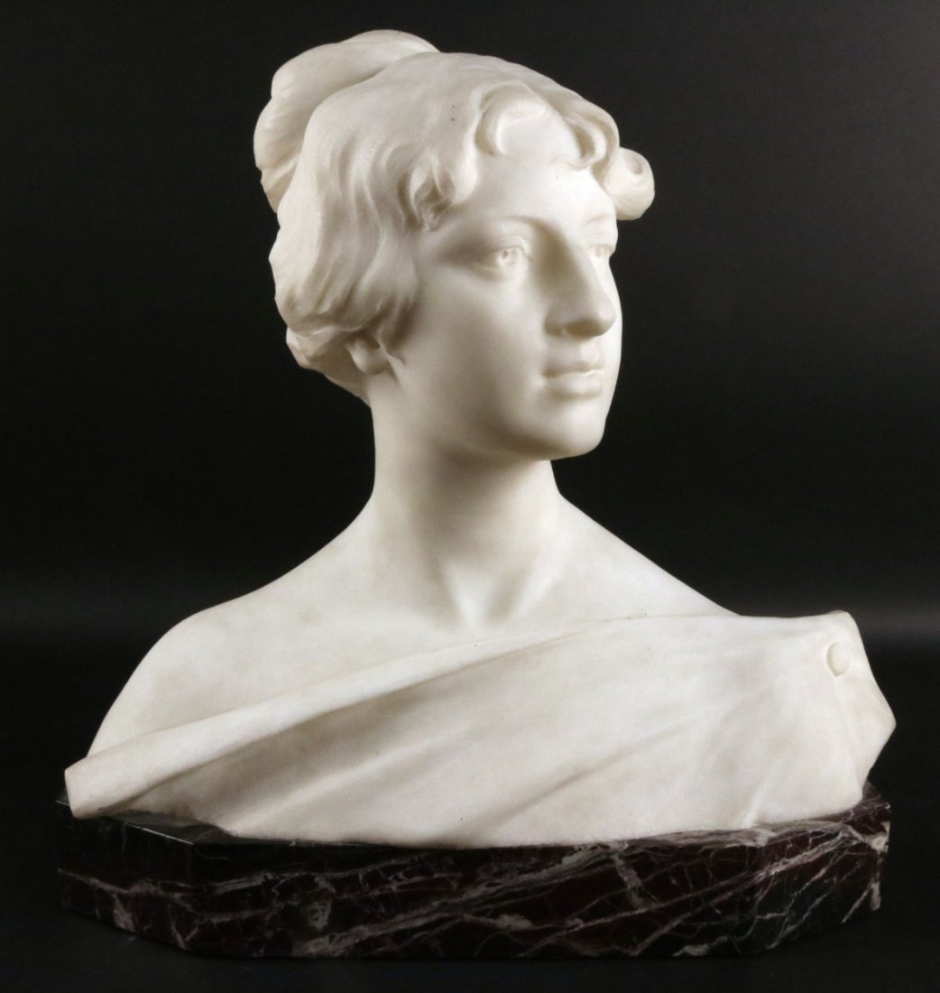 Marble Bust of a Lady, Ferdinando Vicchi