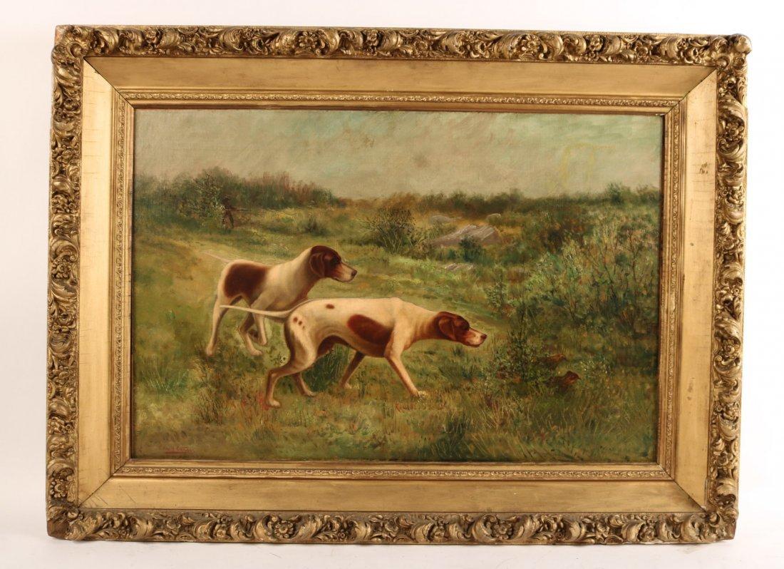 Oil on Canvas, Edmund Henry Osthaus