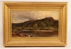 Oil on Canvas Benjamin Williams Leader