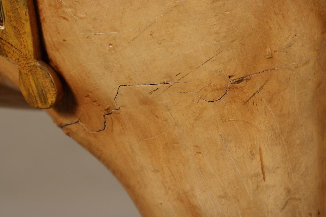 Painted Carousel Standing Horse, Dentzel - 4