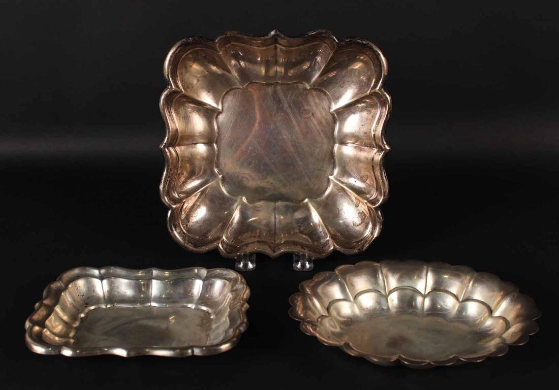 Two Reed & Barton Sterling Silver Trays