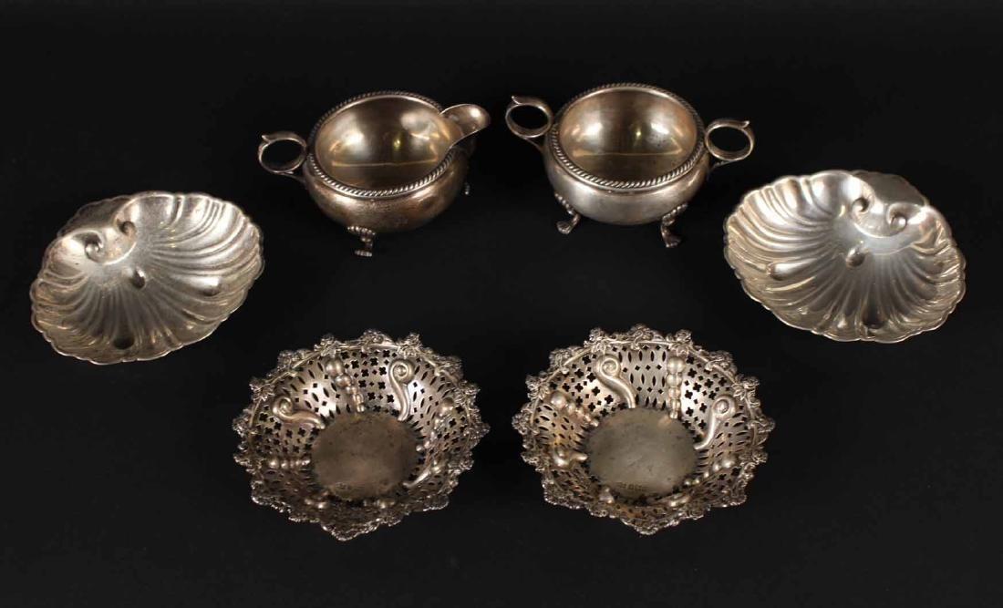 Group of Sterling Silver Table Items