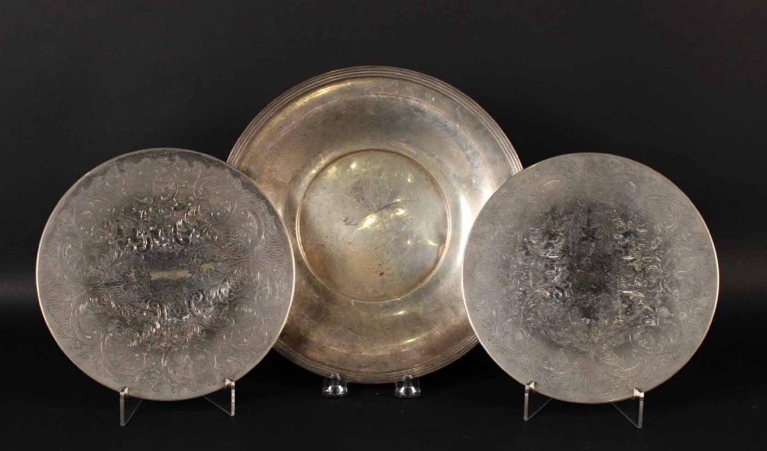 Frank Whiting Sterling Silver Circular Tray