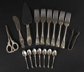 Set of Six Gorham Sterling Silver Dinner Forks