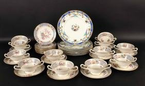 "Partial Lenox ""Ming"" Pattern Tea Service"