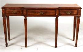 Neoclassical Style Fruitwood Sideboard