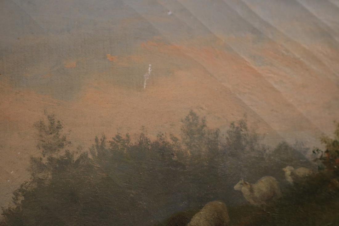 Oil on Canvas, Sheep in a Field, Arthur F. Tait - 5