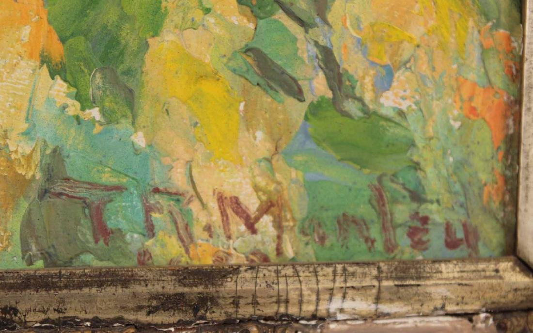 Oil on Board, Landscape with Creek - 3